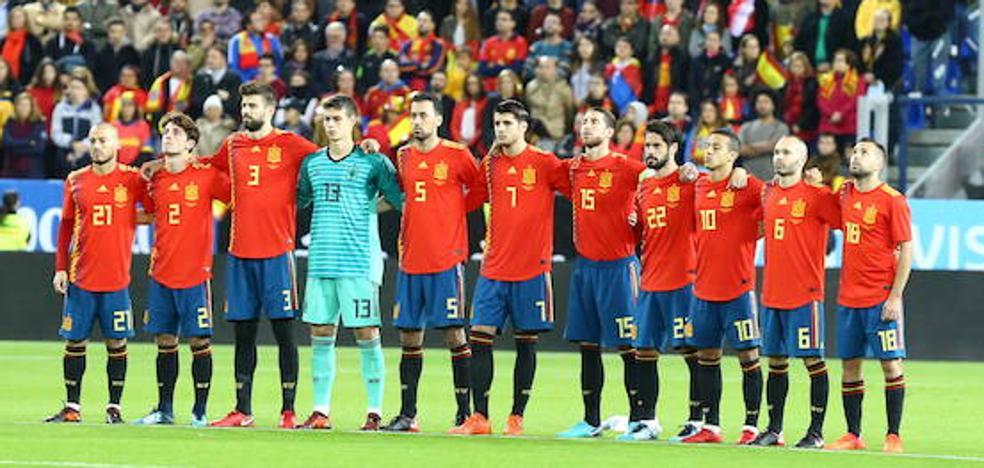 Puntuación de los jugadores de la selección española ante Costa Rica en Málaga