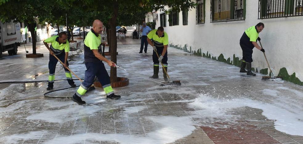 Acosol pide permiso para que la Costa pueda baldear con agua reciclada