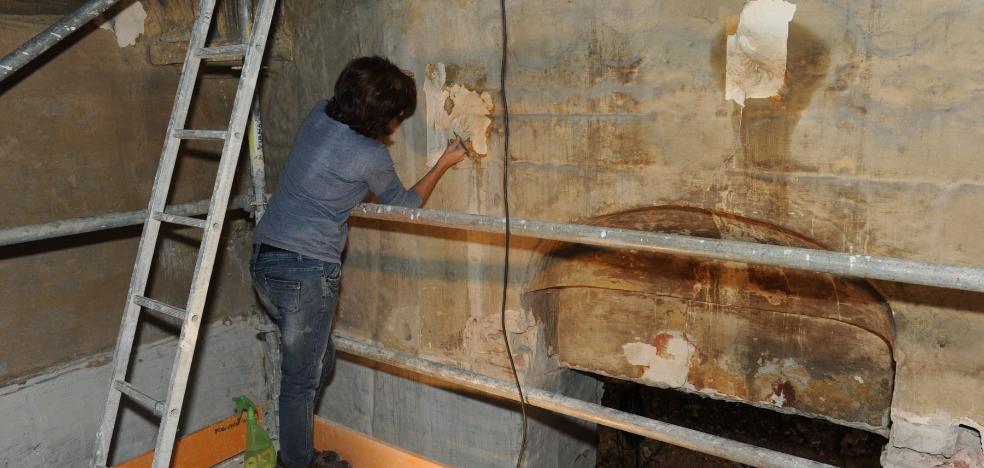 Arrancan las catas en el Convento de la Trinidad