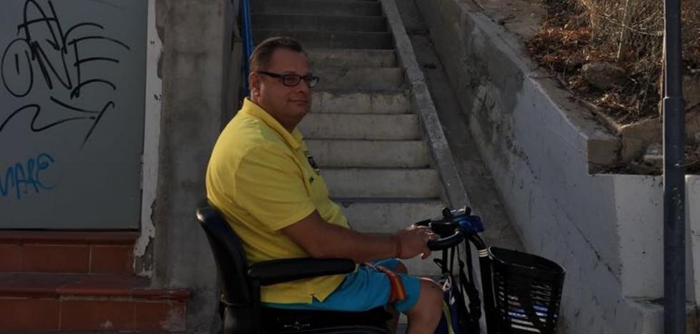 C's y PSOE llevan al Congreso los problemas de accesibilidad al apeadero de Carvajal en Fuengirola