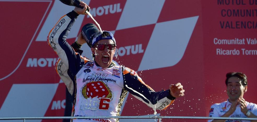 Siguiente objetivo: Valentino Rossi