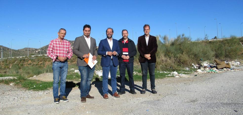 Ciudadanos pide un paso peatonal para sortear la segunda ronda en Puerto de la Torre