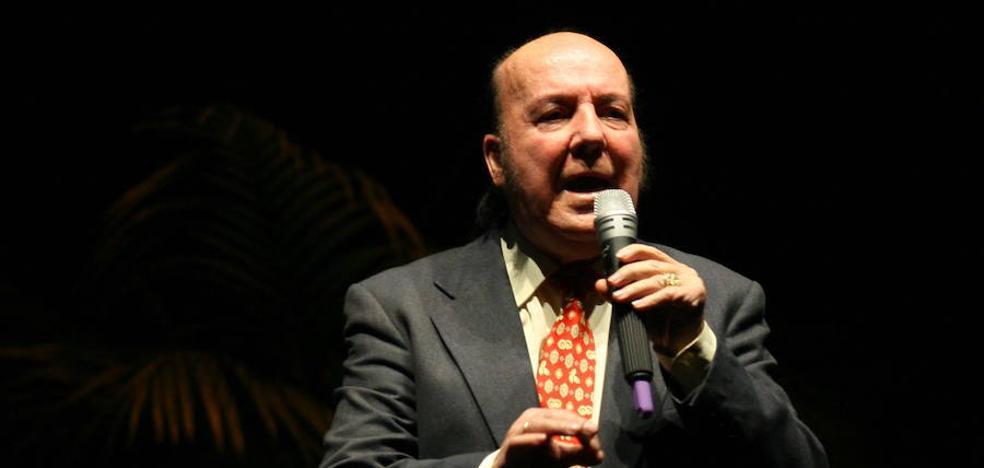 El ministro de Cultura propone conceder la Medalla de Oro de las Bellas Artes a Chiquito de la Calzada