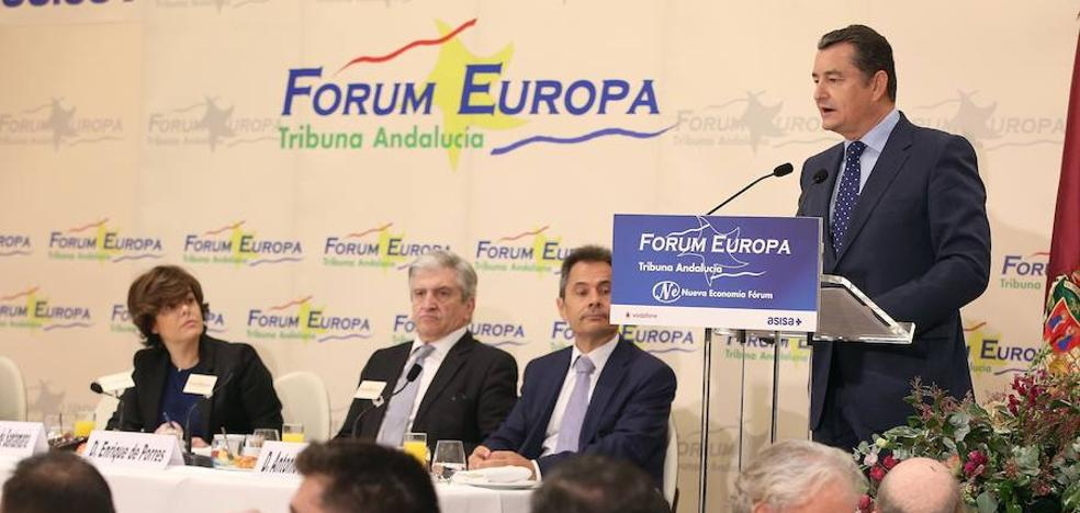 Sanz: «Queremos ser un motor de las soluciones para los andaluces»