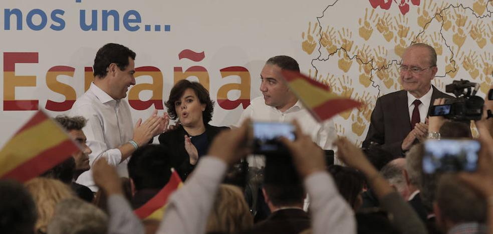 Sáenz de Santamaría destaca que Málaga es hoy un referente de la marca España