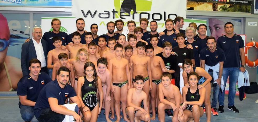 España debuta hoy en la Liga Mundial de waterpolo en Málaga