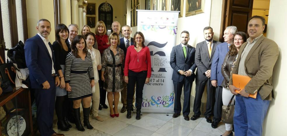 Málaga se vende como destino para los turistas que estudian español