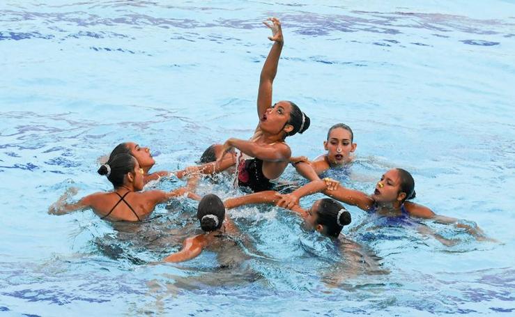 Natación sincronizada en los Juegos Bolivarianos 2017