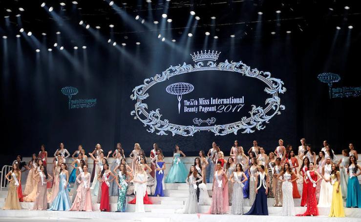 Imágenes del certamen de belleza Miss Internacional 2017, celebrado en Tokio