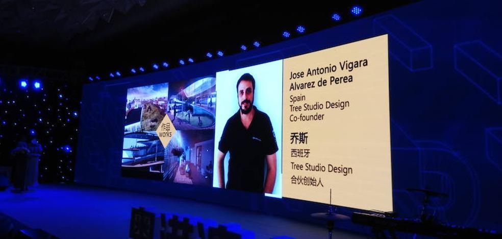 Un estudiante de Arquitectura de la UMA, premiado en China en un evento sobre diseño