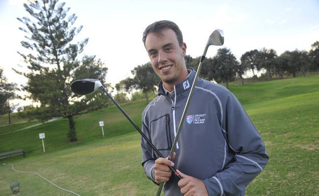 Víctor González, el campeón de golf que quiere ser psicólogo