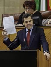 Moreno acusa a Díaz de ser el problema para Andalucía por «soberbia» e «incapacidad»