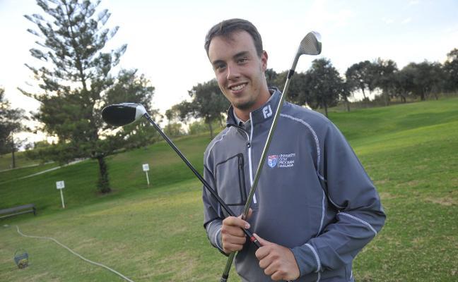 Víctor Pastor, un campeón de golf que quiere ser psicólogo