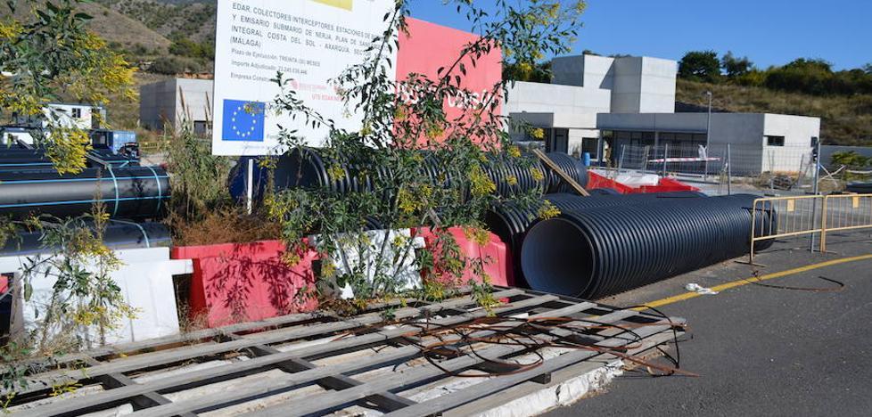 Medio Ambiente reitera su previsión de que la depuradora de Nerja estará en pruebas en 2018
