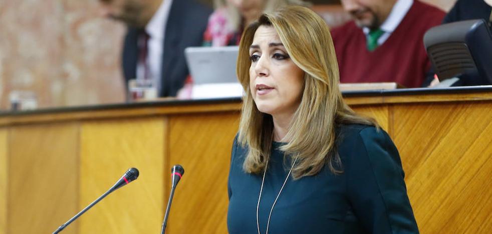"""Díaz exige a Rajoy que no demore más la financiación, """"un lastre"""" para el desarrollo de Andalucía"""