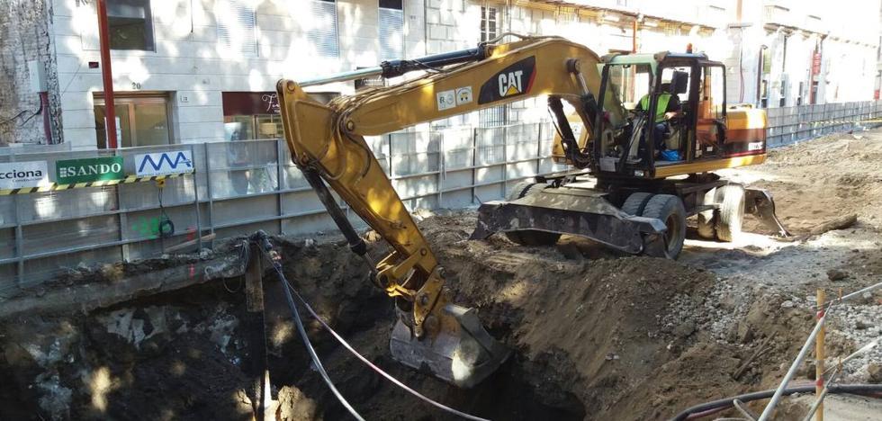 Comienzan las obras de excavación del túnel del metro de Málaga en la Alameda Principal