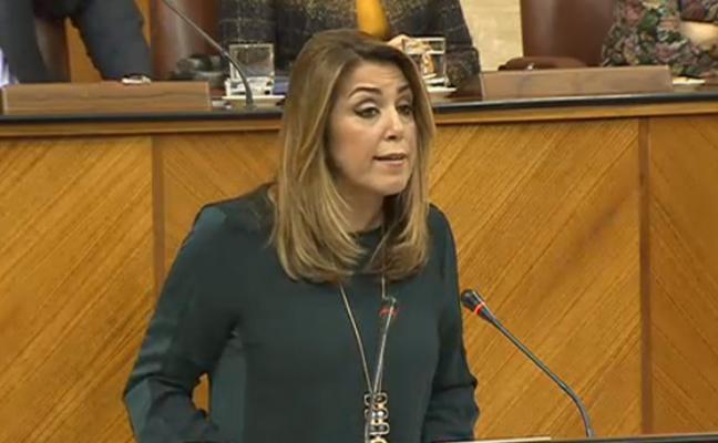 Directo | Susana Díaz anunciará medidas de empleo en el debate sobre la Comunidad