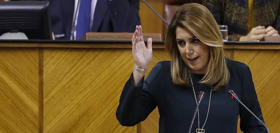 Susana Díaz anuncia planes de empleo para mayores y 8.000 euros por contratos estables