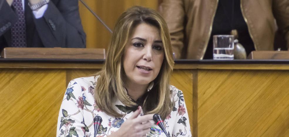 """Susana Díaz pide a los partidos que no fomenten una imagen """"catastrófica"""" de Andalucía que """"alimenta tópicos"""""""