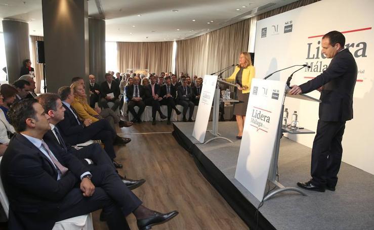 En imágenes, el Foro Empresarial Lidera Málaga con Ángeles Muñoz