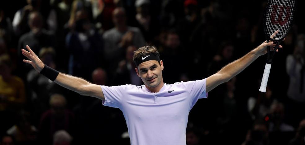 Federer anula a Cilic para llegar a semifinales del torneo de maestros
