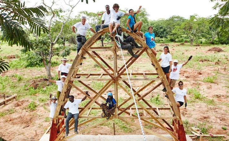 Las raíces malagueñas de una escuela en Senegal