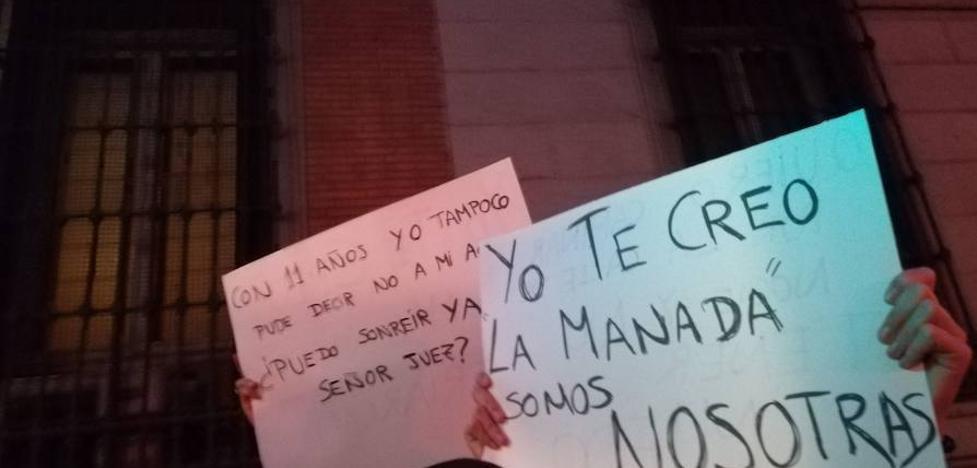 %u201CYo, sí te creo. La manada somos nosotras%u201D: Concentración para denunciar la actuación judicial en el caso de Sanfermines