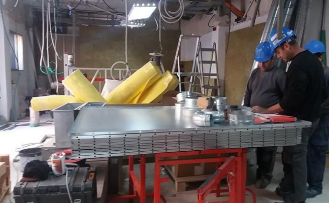 El Hospital de la Axarquía inicia las obras para instalar un equipo de resonancia nuclear magnética