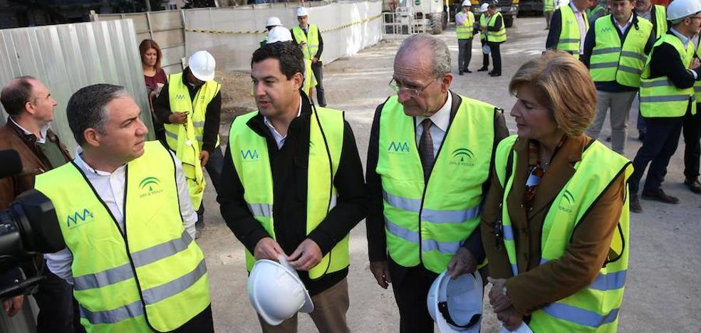 El PP reclama la finalización del metro hasta el Centro antes de iniciar nuevos tramos como el Civil