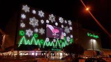 Luces para el inicio de la campaña navideña