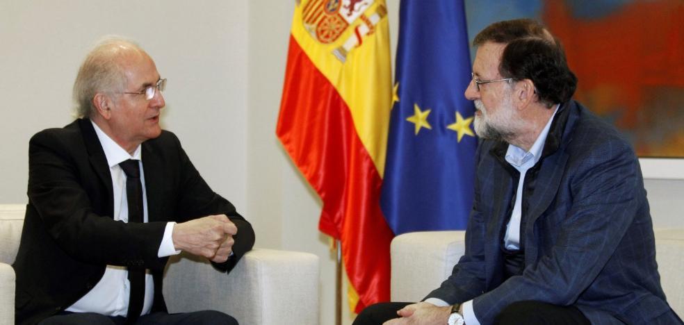Ledezma combatirá a Maduro desde España