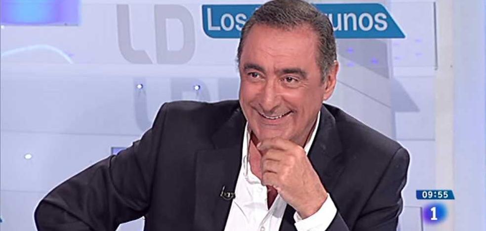 TVE cancela '¿Cómo lo ves?', presentado por Carlos Herrera