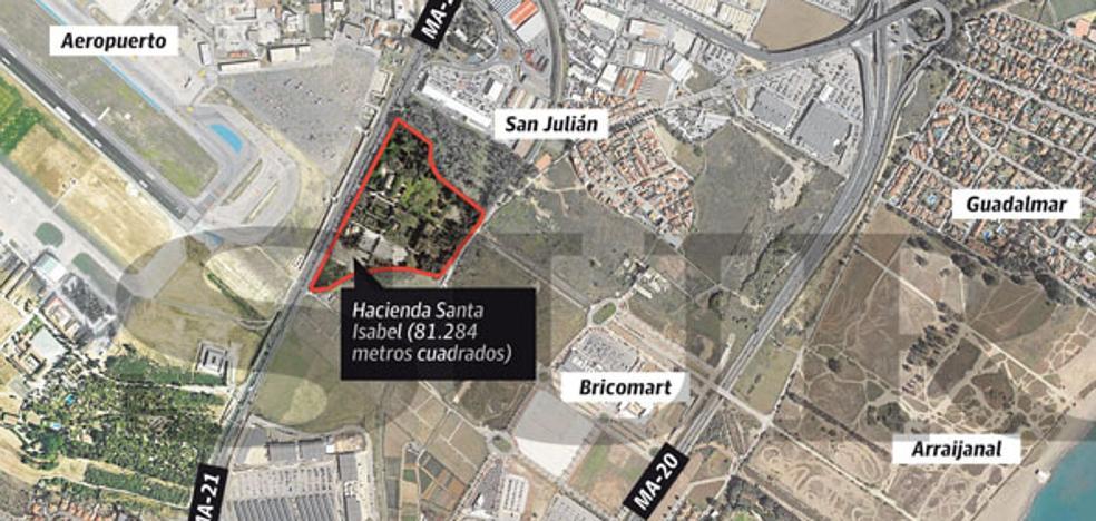 La Junta proyecta un macrodepósito judicial para Málaga y el campo de Gibraltar junto a San Julián