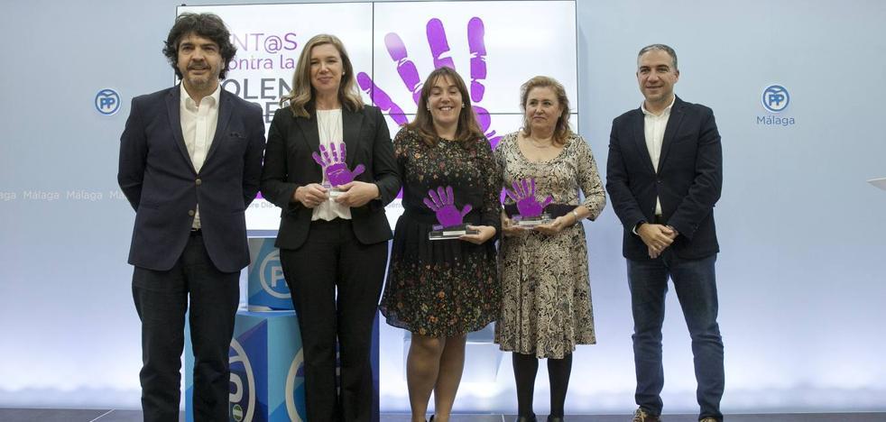 Reconocimiento a las batalladoras contra la violencia de género