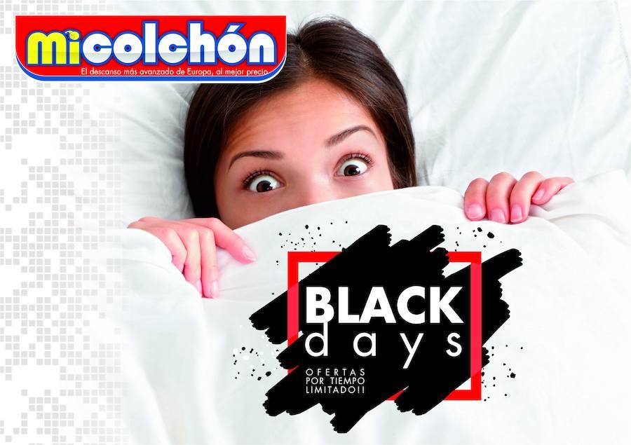 BLACK DAYS en MICOLCHON, la oportunidad de disfrutar del mejor descanso al mejor precio