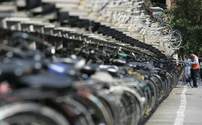 El Ayuntamiento de Málaga regulará el uso de aparcamientos municipales de bicicletas por parte de empresas privadas