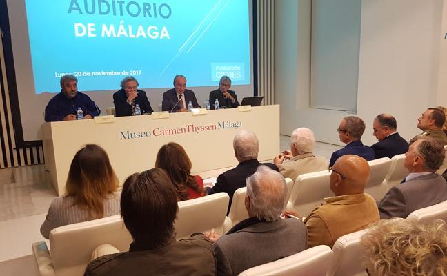 El alcalde de Málaga quiere «mantener vivo» el proyecto del auditorio y que la Diputación participe en la financiación