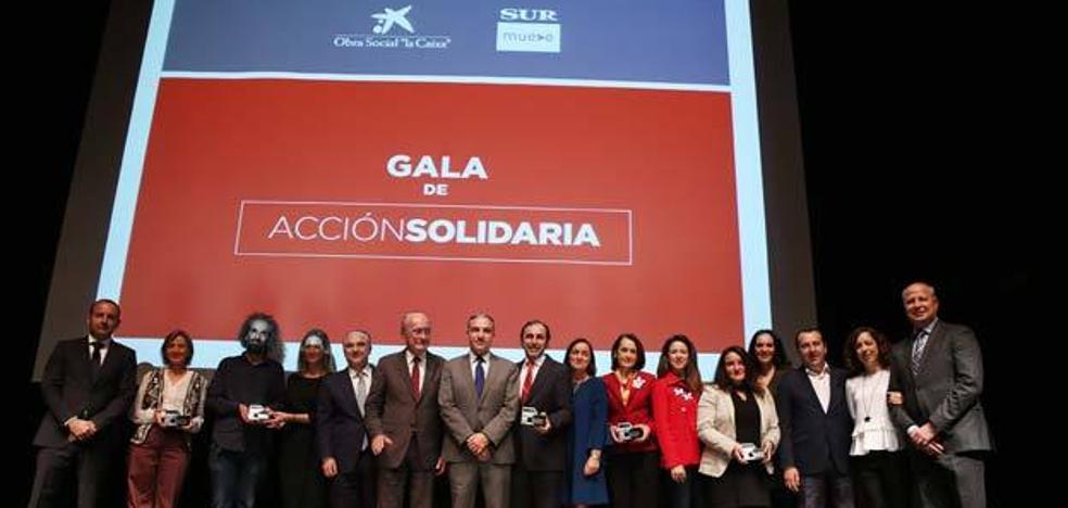 La I Gala de Acción Solidaria reconoce la labor de cinco entidades