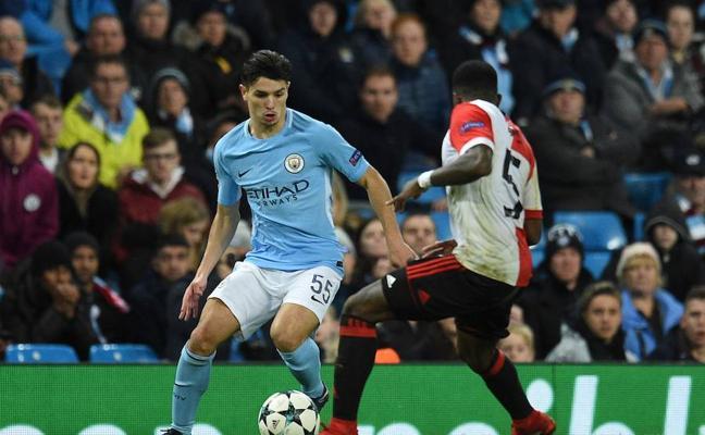 Brahim debuta en la Champions con el City con sólo 18 años