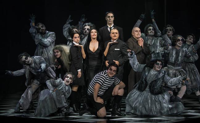 La familia Addams veranea en Málaga