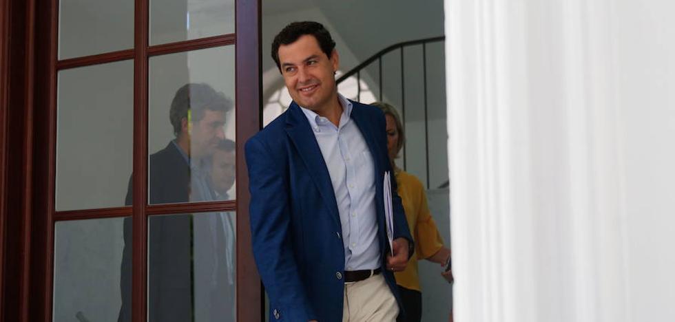 """Juanma Moreno: """"El Gobierno hizo lo más sensato apostando por Barcelona para la Agencia Europea del Medicamento"""""""