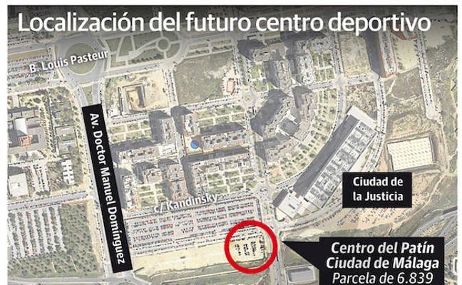 El Ayuntamiento de Málaga proyecta un centro de patinaje junto a la Ciudad de la Justicia