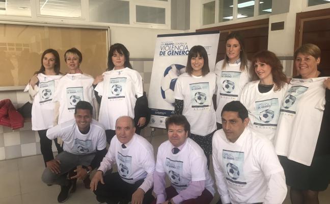 La Fundación del Málaga hace equipo contra los malos tratos