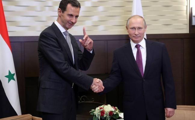 Putin proclama la victoria militar de El-Asad