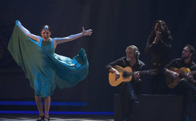 El flamenco se habla con los pies