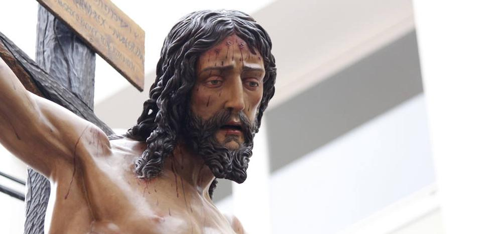 El Cristo de la Crucifixión presidirá el vía crucis de la Agrupación de Cofradías en 2018