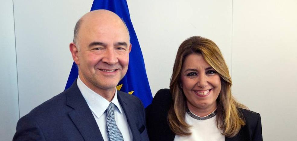 Díaz insta a la UE a tener en cuenta la «singularidad» de Andalucía en la negociación del 'Brexit'