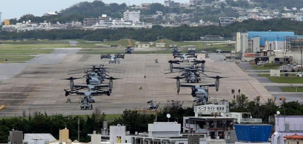 Un avión de la Marina de EE UU cae al mar de Filipinas con 11 personas a bordo