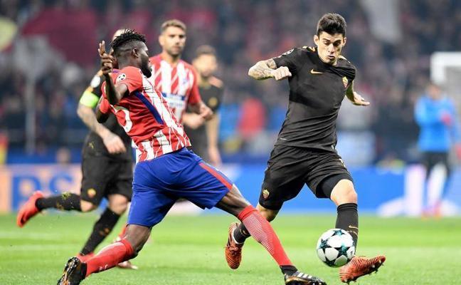 Atlético-Roma, en directo