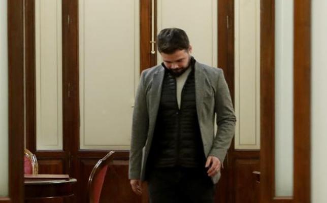 Riña a Rufián en el despacho de 'la presidenta'
